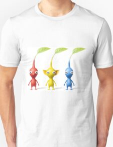 red blue and yellow pikmin T-Shirt