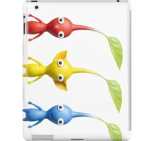 red blue and yellow pikmin iPad Case/Skin