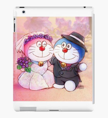 Doremon Wedding iPad Case/Skin