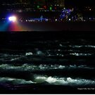 Hells Half Acre Rapids At Night | Niagara Falls, New York  by © Sophie W. Smith