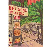 belgian fries Photographic Print