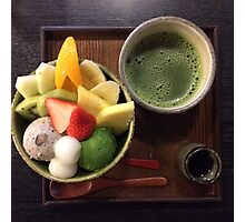 Anmitsu Japanese Dessert Photographic Print