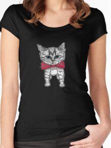 Evening Wear Women's Fitted Scoop T-Shirt