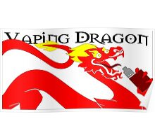 vaping dragon Poster
