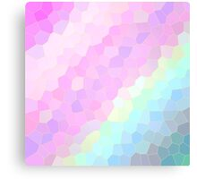 Pastel Illusions Canvas Print