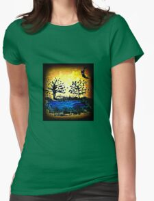 All Hallows Eve Womens Fitted T-Shirt