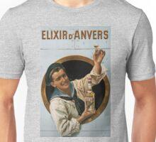 Vintage poster - Elixir d'Anvers Unisex T-Shirt