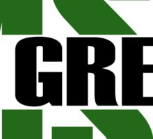 Michigan State University - Go Green Split Sticker