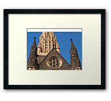 St Patricks in Melbourne Framed Print