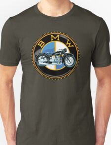 Vintage BMW motorcycles Unisex T-Shirt