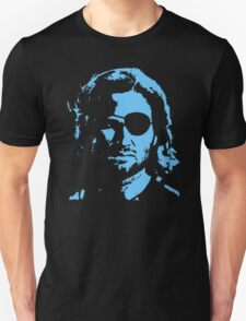 Plissken Portrait (Blue) T-Shirt