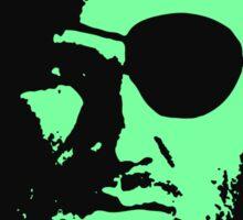 Plissken Portrait (Green) Sticker
