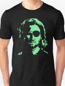 Plissken Portrait (Green) T-Shirt