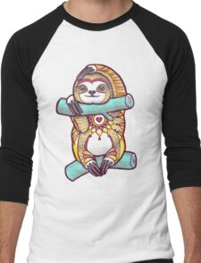 Mandala Sloth Men's Baseball ¾ T-Shirt