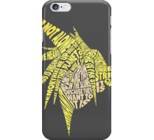 Final Fantasy VII (7) - Cloud Strife - Typography iPhone Case/Skin