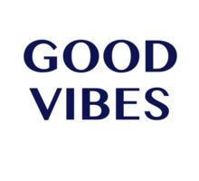 Good Vibes Abstract  Sticker