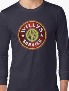Willys Overland Jeep Long Sleeve T-Shirt
