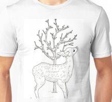 Winter Fawn Unisex T-Shirt