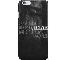 P!ATD Lyrics iPhone Case/Skin