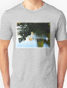 Swans on the River Unisex T-Shirt