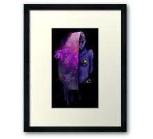 Graffiti Girl Framed Print