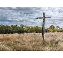 Prairie Closeline  Photographic Print