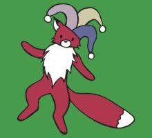 Little Red Fox - Jester One Piece - Short Sleeve