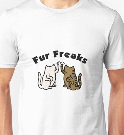'Fur freaks' decal Unisex T-Shirt