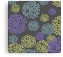 Colorful Twisted Yarn Canvas Print