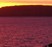 Sunset, Stanley, Tasmania, Australia 2 Sticker