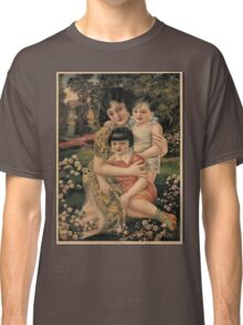 Vintage poster - Happy Children Classic T-Shirt