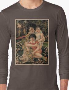 Vintage poster - Happy Children Long Sleeve T-Shirt