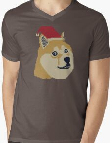 Doge Babies Mens V-Neck T-Shirt