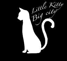 'Little kitty, big city' vector by Furrnum