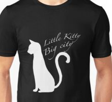 'Little kitty, big city' vector Unisex T-Shirt