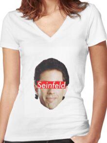 Seinfeld Supreme Women's Fitted V-Neck T-Shirt