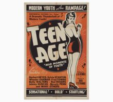Vintage poster - Teen Age Baby Tee