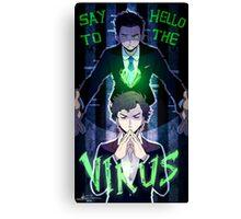 Sherlock - Say Hello to the Virus Canvas Print