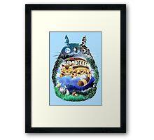 Your Neighbor Totoro Framed Print
