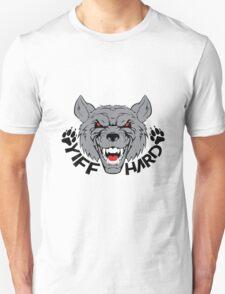 'Yiff hard' decal Unisex T-Shirt