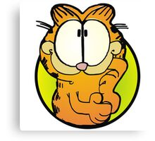 Wondering Garfield Canvas Print