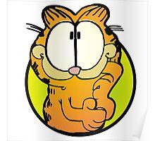Wondering Garfield Poster