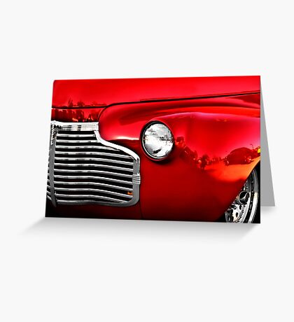 Primary Colors - Classic Car Greeting Card