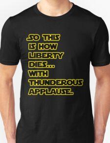 Padme Amidala Quote Star Wars T-Shirt