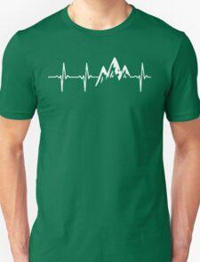 MOUNTAIN IN MY HEARTBEAT BEST SELLER T-Shirt