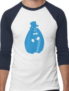 Sir Groundhog (Sir Critter) Men's Baseball ¾ T-Shirt