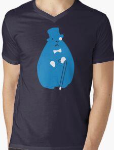 Sir Groundhog (Sir Critter) Mens V-Neck T-Shirt