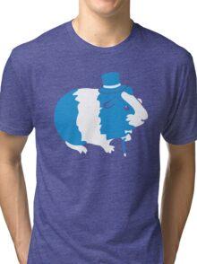 Sir Guinea Pig (Sir Critter) Tri-blend T-Shirt