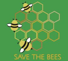 Save the Bees 2 One Piece - Short Sleeve