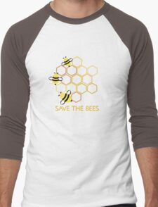 Save the Bees 2 Men's Baseball ¾ T-Shirt